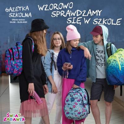 Najnowsze wzory plecaków, najbardziej kolorowe kredki w Świecie Zabawek!