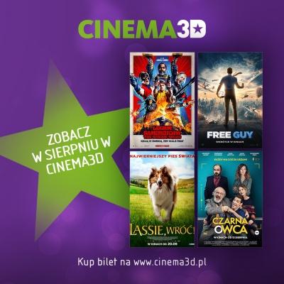 Cinema3D zaprasza na drugą część filmowego lata!