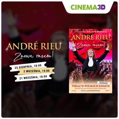 Nowy kinowy koncert w Cinema3D