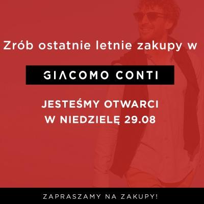 Sprawdź ofertę GIACOMO CONTI – salonu mody męskiej!