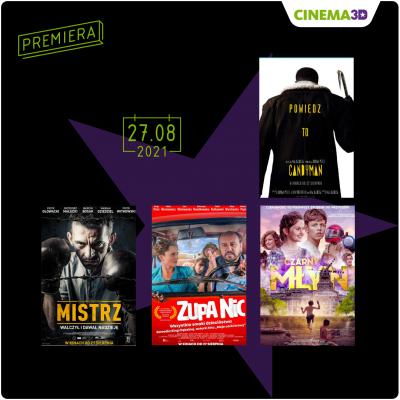 Co oferuje CINEMA3D w ten weekend?